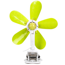 220V 10W wall mounted clip desktop electric mini fan of green energy-saving fans 700rpm plastic blade