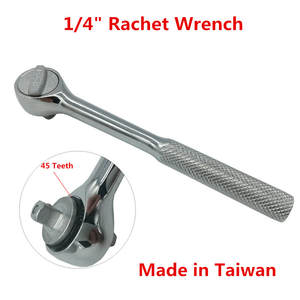 High Quality 14 Rachet Wrench Mini Torque Wrench For Vehicle Bicycle Bike Socket Wrench Kit Tool 45 Teeth Drive