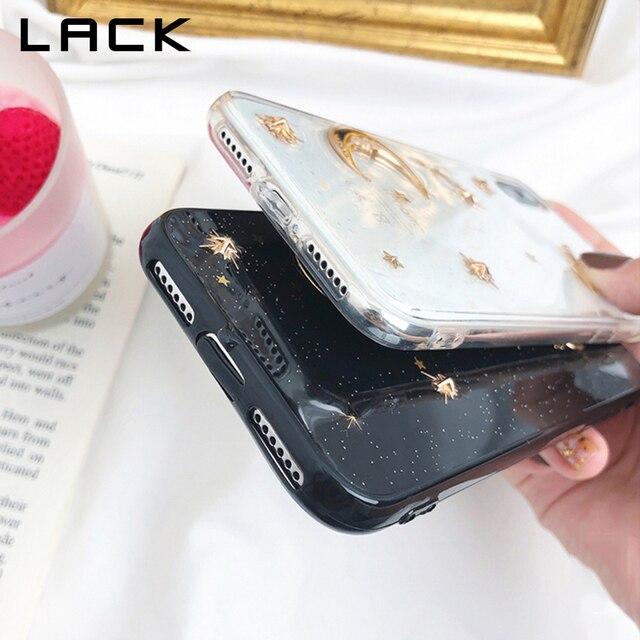 Manque paillettes Bling univers série coque de téléphone pour iphone XS Max étui pour iphone X XR 8 7 6 S 6 Plus housse lune étoile planète étuis
