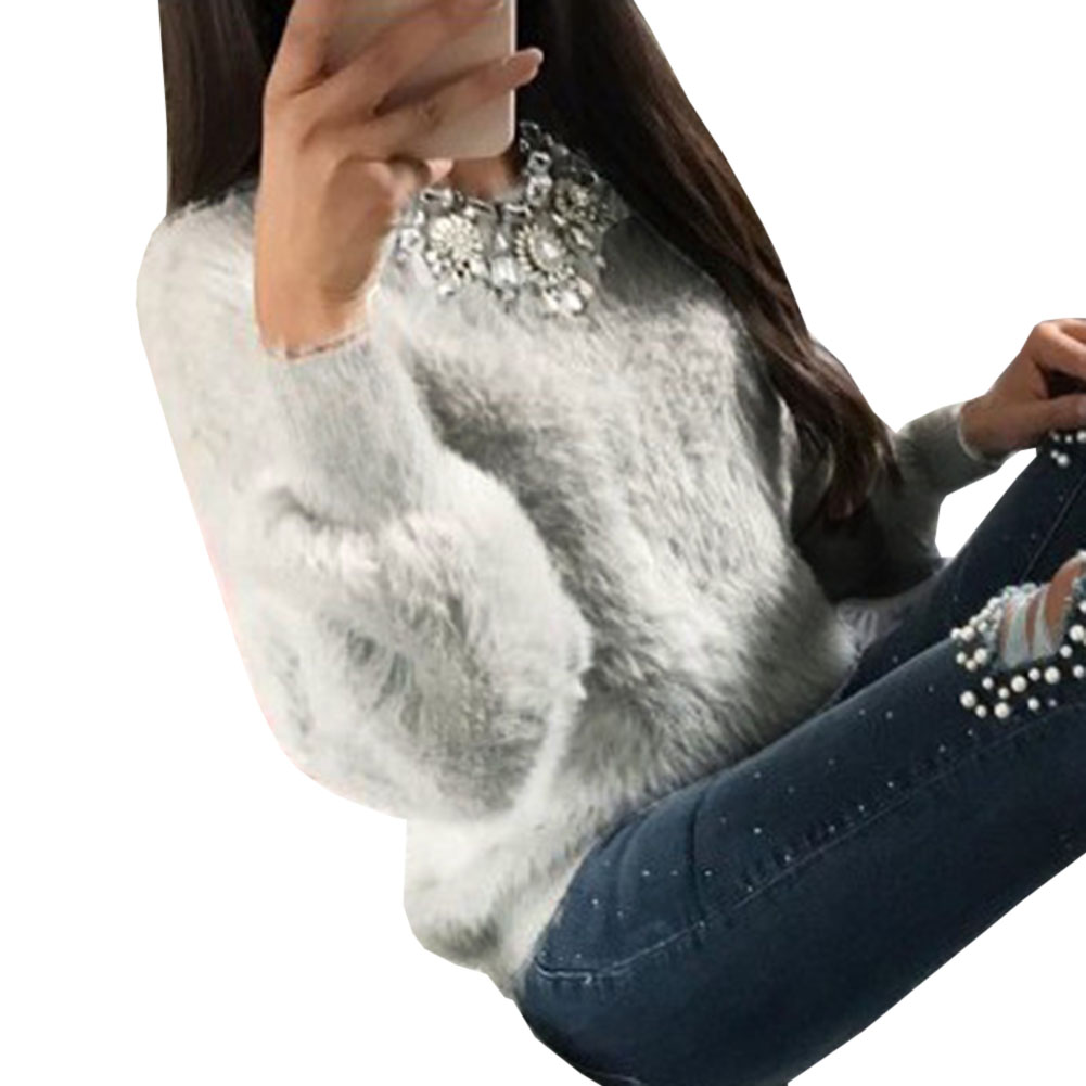 Manga Señora Casual pk gy Elegante Felpa Blusa Invierno ¡sin Tops Desgaste Camisa Collar Mujeres Blusas Oficina Larga Otoño Ap kk 7cqgB