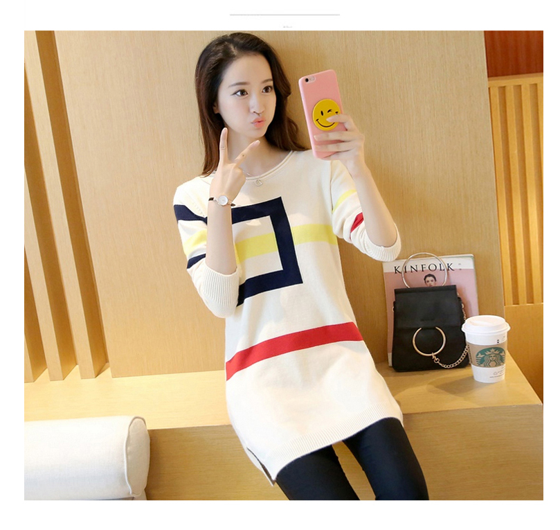 18 DRL sweater women Basic woman sweater pullovers long sleeve Jumper Long Sleeve Sweaters Autumn Winter pull femme hiver 7