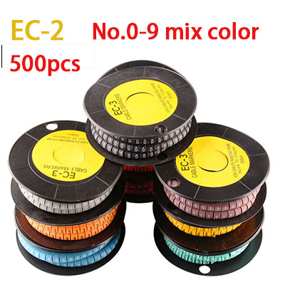 Cable Marker 5.2mm to 10mm No.0-9 1000 pcs.