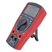UNIT T UT50B LCD Handheld Precision Digital Multimeters DC AC Ohm Temperature DMM Tester 1000V 20A