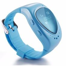 TURNMEON GPS Tracking Smart Watch For Children Kids Child Bracelet Google Map Sos Apps Gsm Locator Phone Smartwatch A6W