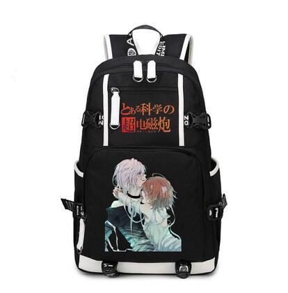 Anime Toaru kagaka no raligun s Free Shipping school student Backpack Boy Girl For Teenagers Bag Japanese cosplay style