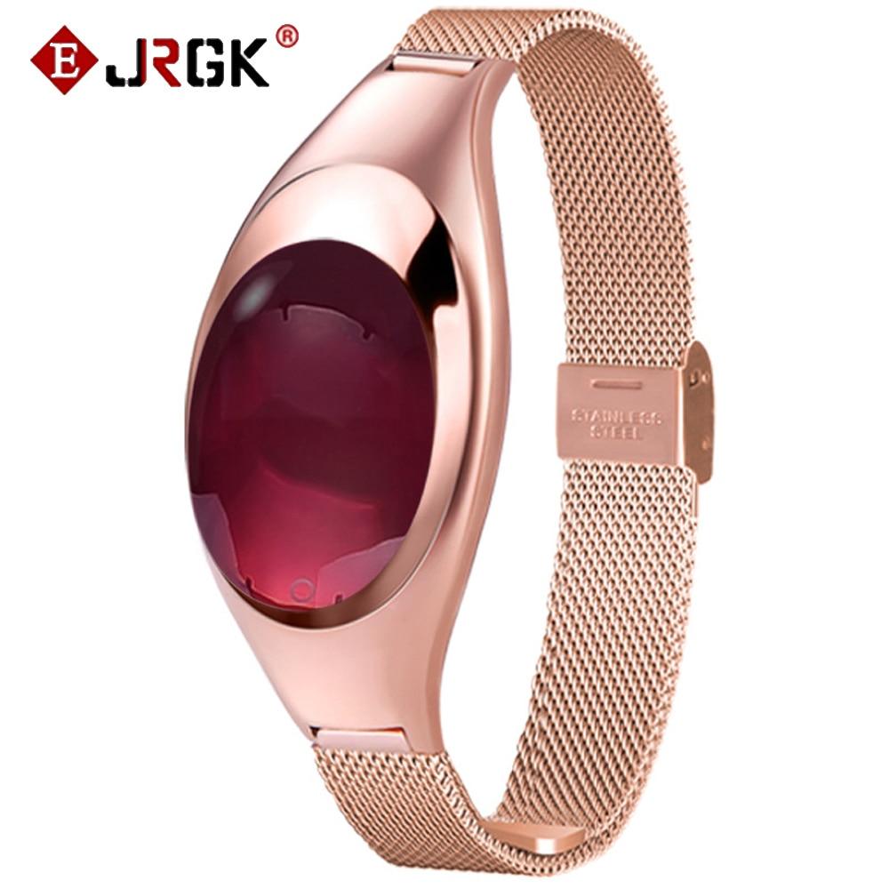 JRGK Women Smart Watch bracket Smartwatch With Blood Pressure Heart Rate Monitor Pedometer Fitness Tracker Fo