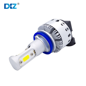 DXZ Automotive Headlight Bulbs Car Styling H7 LED 9012 H8 H9 H11 HB3 HB4 H16 for bmw volkswagen Ford Focus Driving Lights