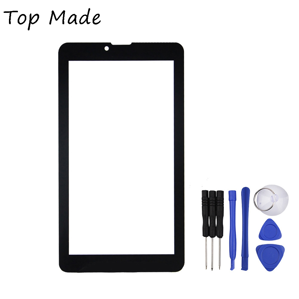 New 7inch Tablet Capacitive Touch Screen Replacement for IRBIS HIT TZHIT Digitizer External screen Sensor Free Shipping black new 8 tablet pc yj314fpc v0 fhx authentic touch screen handwriting screen multi point capacitive screen external screen