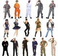 Prisioneiros polícia traje uniformes rpg servindo os presos que cumprem dress halloween dress crianças uniforme da prisão de adultos