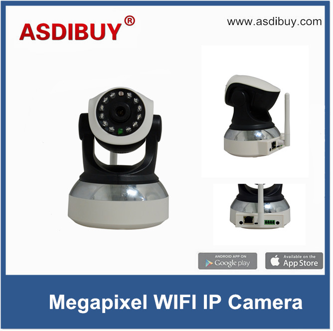 ФОТО Megapixel IP Camera WIFI 720P Home Security Surveillance System Onvif P2P Phone Remote control wireless baby monitor camera