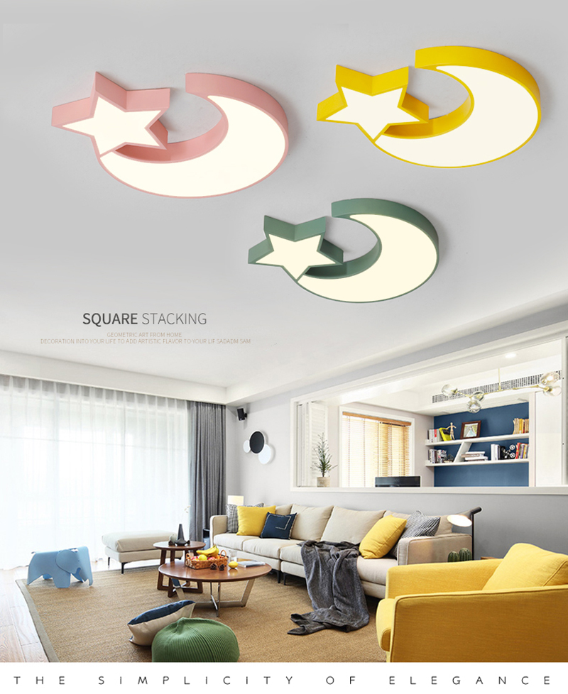 carton princesse moderne personnalise lustre enfants. Black Bedroom Furniture Sets. Home Design Ideas