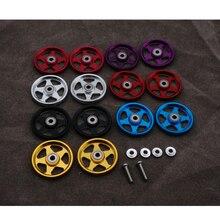 Самодельные ролики tamiya mini 4wd из алюминиевого сплава 19 мм, 7 цветов, цена за 1 пару, 324 магазине