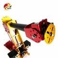 Official DOIT 6DOF Powered Desktop Parallel-mechanism Metal Robot Arm PalletPack Industrial Robot Arm
