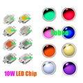 Высокая Мощность светодиодный чип 10 Вт светодиодный 10 Вт натуральный холодный теплый белый красные, синие зеленый УФ ИК Полный спектр света...
