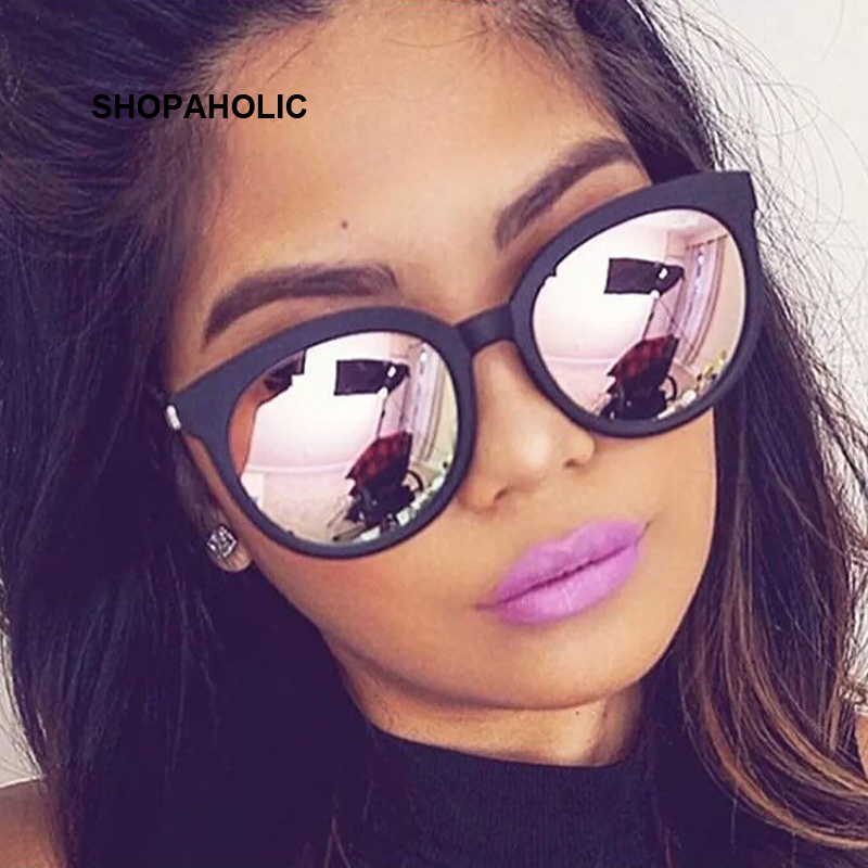 2017 Cat Eye Sunglasses Women Luxury Brand Sunglasses Couple Pink Women Driving Sun Glasses Female Lunette Femme Shades