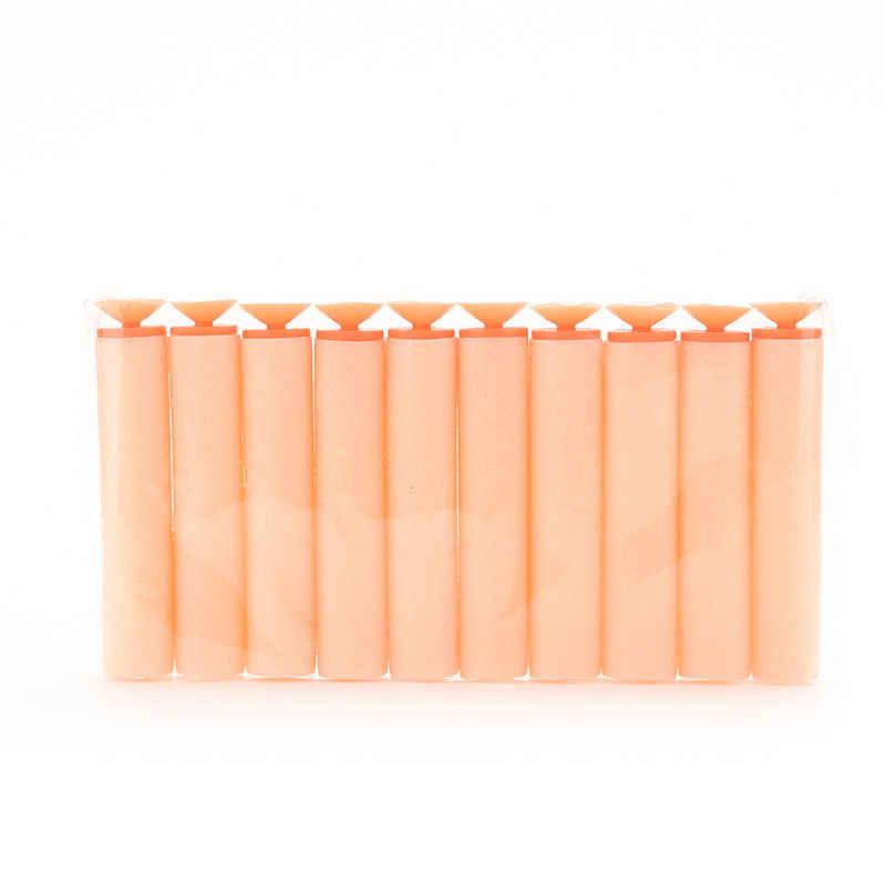 10pcs/lot Orange Sniper Bullet Blaster With Soft Sucker Toy Gun Refill Darts For         On Sale