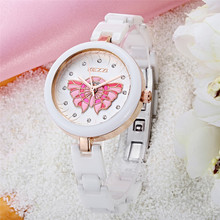2016 Kezzi New Fashion Ceramics Watches Women Dress Watch stylish women casual watch Quartz Wrist Watches clock female k1233