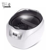 Gustala 750ML Nail Tools Manicure Sterilizer Ultrasonic Cleaner Professional Washing Equipment 5 Settings TIMER Button EU Plug