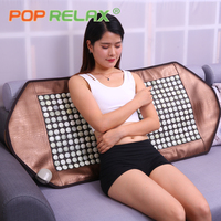 POP RELAX Korea jade mattress stone massage mat far infrared thermal physiotherapy health care pain relief heating pad mattress