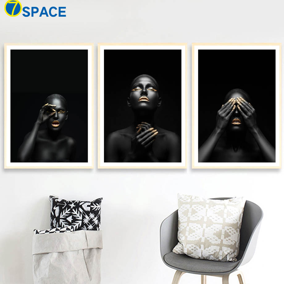 Fashion Woman Body Art Prints Modern Nordic Posters And Prints Wall Art Canvas Painting Wall Pictures For Living Room Home Decor