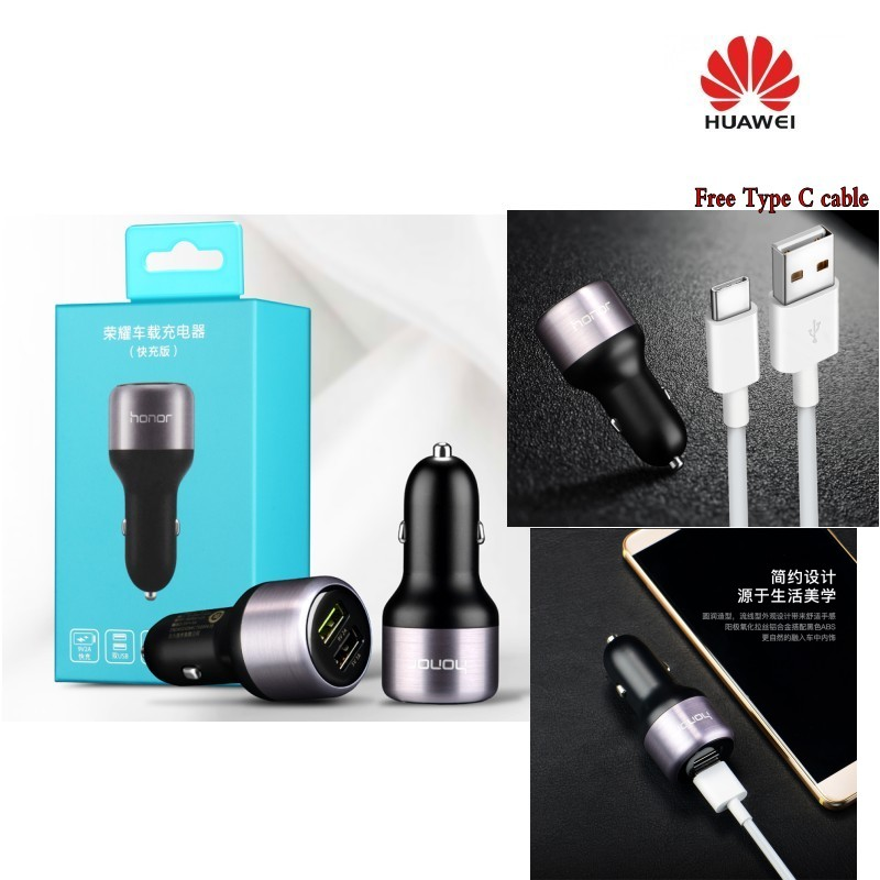 Chargeur de voiture Huawei original Honor