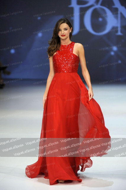 e4dbea130f Miranda Kerr Red Sequined Prom Dress Chiffon Skirt Evening Dresses-in  Celebrity-Inspired Dresses from Weddings & Events on Aliexpress.com |  Alibaba ...