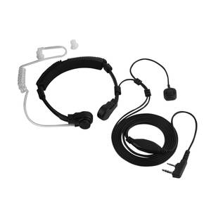 New Throat Microphone Throat Vibration Headset Headphone For BaoFeng UV-5R UV-B5 UV-B6 BF-888S Walkie Talkie earphone Headset