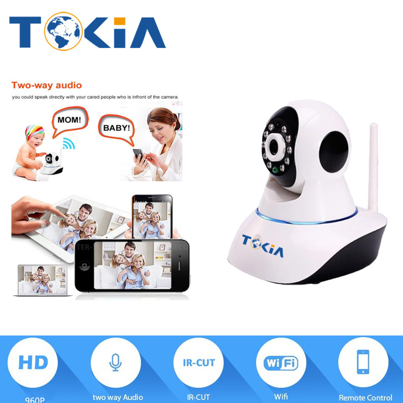 hot selling 960P PT WIFI  IP Camera camera wireless Security Surveillance CCTV Network P2P night vision alarm system
