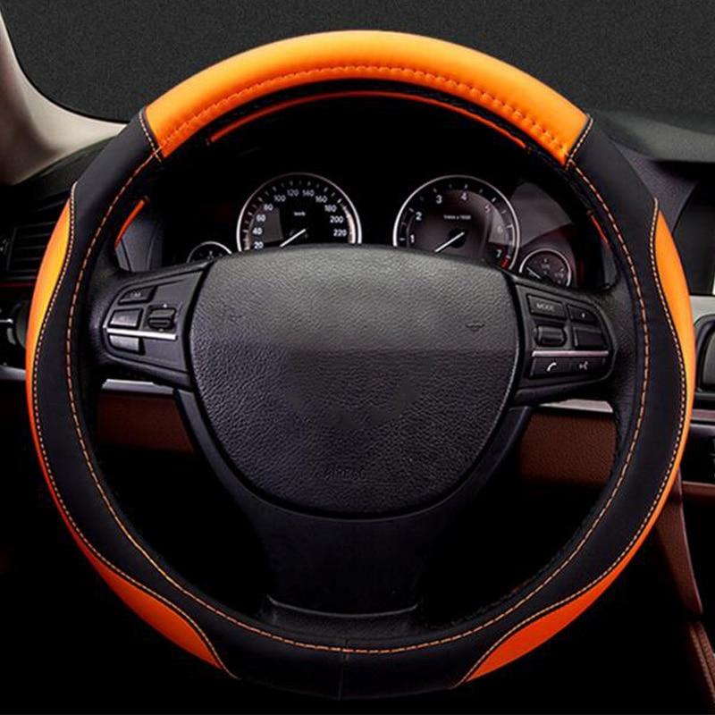 Car steering wheel cover for Toyota camry RAV4 rav 4 corolla Highlander wish changan cs35 cs75 jac j3 j6 s2 s3 s5