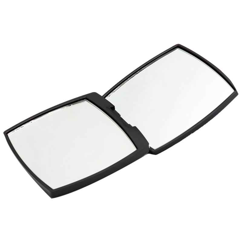 Mini Mirror Square Shape Girl Mini Double Sided Portable Mirror Pocket Makeup Cosmetics Compact Mirrors