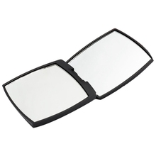 Mini Mirror Square Shape Girl Mini Double Sided Portable Mirror Pocket Makeup Cosmetics Compact Mirrors portable double sided folding cosmetic mirror female gifts with flowing sparkling sand mini makeup mirror compact pocket mirrors