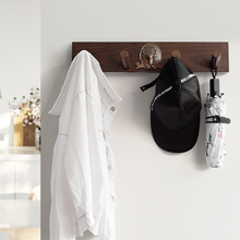 Home wall Decoration Resin deer Shape Rack Hook Coat Wooden European Nordic Living Room Kitchen Bedroom Towel Hat Handbag Hanger