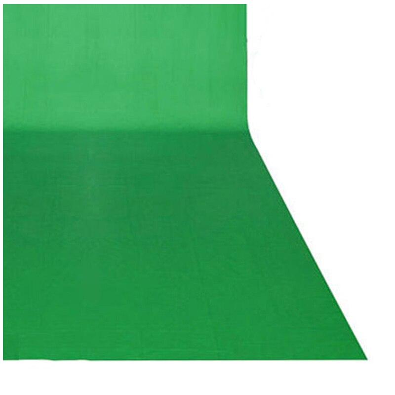 MAHA Photo Chaude Vert/Noir Écran chroma key 10x20ft/3x6 m Toile De Fond De Fond Photographique - 3
