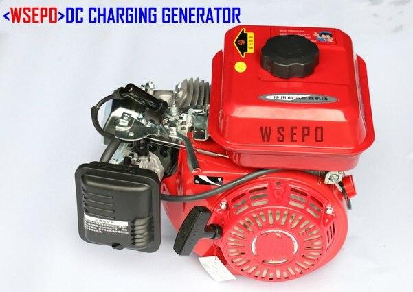 fonte direta da fabrica wse 2kw sistema de carregamento da bateria do gerador da gasolina dc