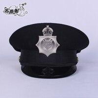 Новый ночной клуб безопасности Cap дышащий форма черная шляпа партии Сценические костюмы для сцены для леди