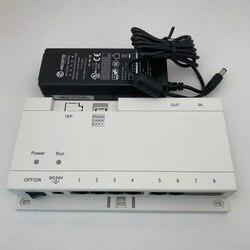 El logotipo de DH incluye el adaptador de corriente DH fuente de alimentación de red para el sistema IP