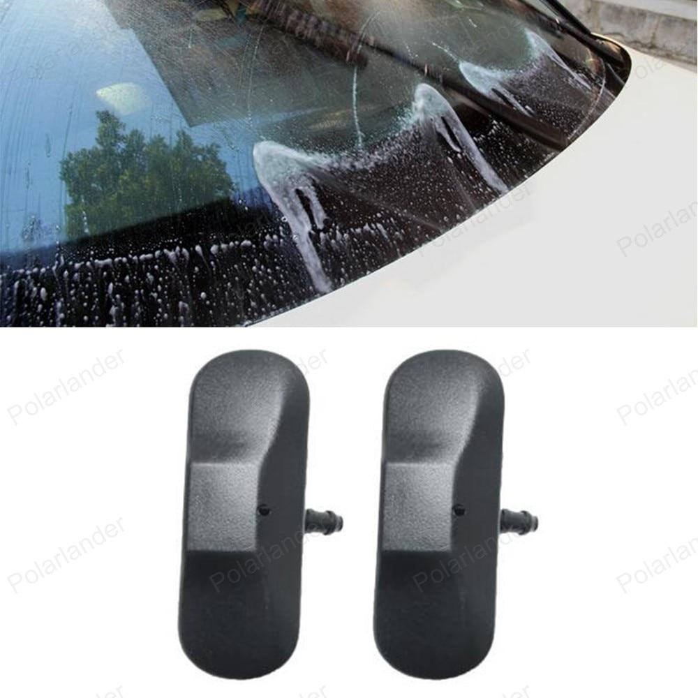 Windshield Washer Wiper Head For Audi A4L A6L A3 Q7 Q5 Q3 A1 A5 Auto Accessories Car Water Spray Nozzle Cover