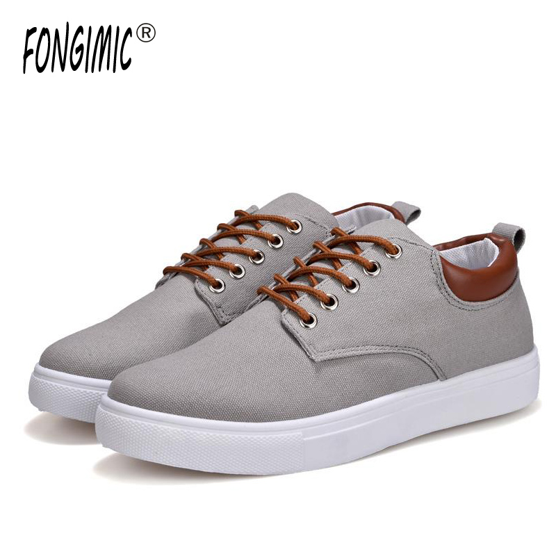 Fongimic Men Spring Autumn Casual Shoes Breathable Flat With All-Match Shoes Men Comfortable Lace-up Shoes Large Size 6 Color men casual shoes lace up mesh men outdoor comfortable shoes patchwork flat with breathable mountain shoes 259