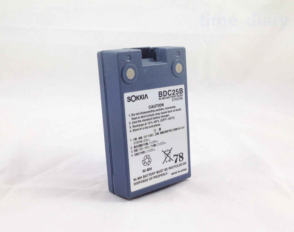 ФОТО New SOKKIA BDC25/ BDC25B/BDC25A Battery For Sokkia Total Stations