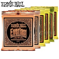Ernie Ball Ever Last Coated Phosphor Bronze Acoustic Guitar Strings 2548 2550 2554 2556 2558 2560