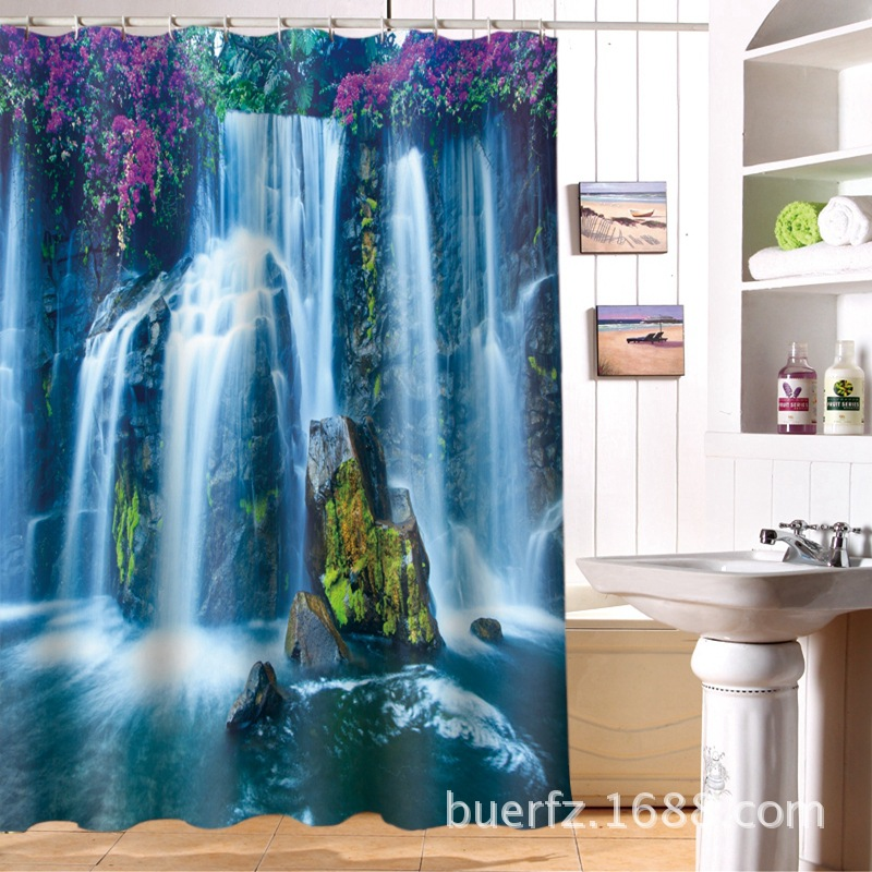 Compare Prices On Waterfall Shower Curtain Online