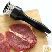 Профессиональный мясной тендерайзер игла с кухонными инструментами из нержавеющей стали июля