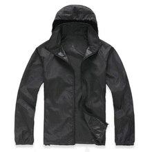 Couple Coats Quick Dry Sunscreen Anti-uv Outdoor Sport Climbing Cycling Jacket Men Women Waterproof Sun Protective Hiking Coat