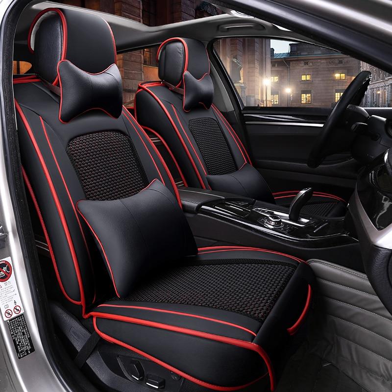 Leather Car Seat Cover Auto Seat Cushion For Nissan Fuga