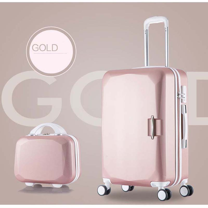 LeTrend 26 Inch High Capacity Rolling Luggage Spinner Students Password Suitcase Wheels 20 Inch Carry On Trolley Travel Bag