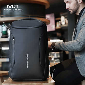 Mark Ryden 2019 New Anti-thief Fashion Men Backpack Multifunctional Waterproof 15.6 inch Laptop Bag Man USB Charging Travel Bag - DISCOUNT ITEM  56% OFF All Category