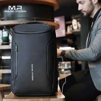 Mark Ryden 2019 nowych Anti-theft moda mężczyźni plecak wielofunkcyjny wodoodporna 15.6 cal torba na Laptop mężczyzna USB ładowania podróży torba