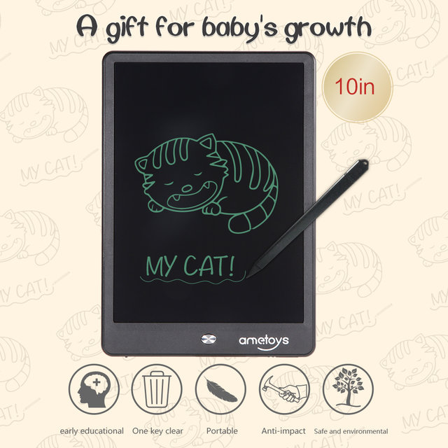 Online Shop 10 Inch LCD Writing Tablet Digital Drawing Tablet ...