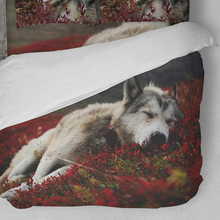 Wolf Bedding Set Animal King Single Double Queen Twin Full Size Duvet Cover Quilt Bed Pillow Cases 3pcs