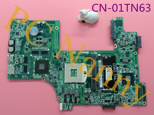 CN-01TN63 1TN63 DAV03AMB8E0 For Dell Vostro 3750 Laptop Motherboard HM67 DDR3 with NVIDIA GeForce GT 525M 1GB